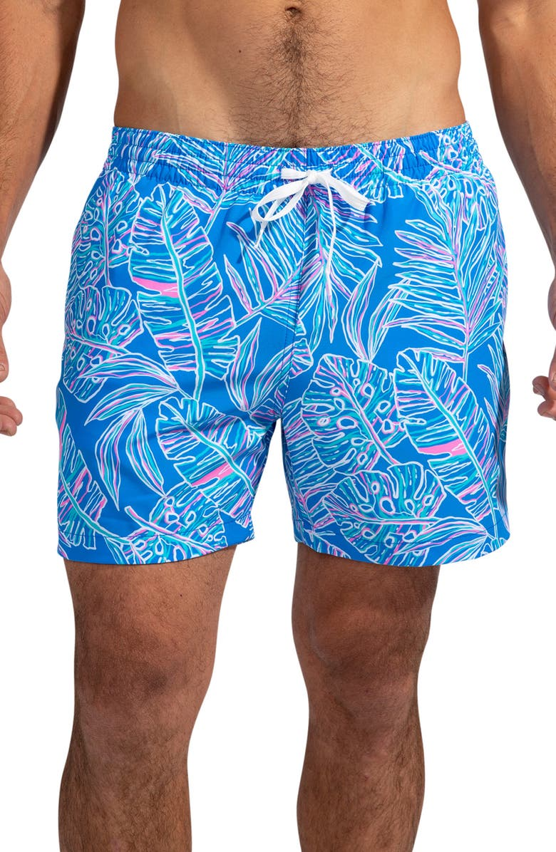 CHUBBIES The Cruise It or Lose It 7-Inch Swim Trunks, Main, color, MEDIUM BLUE