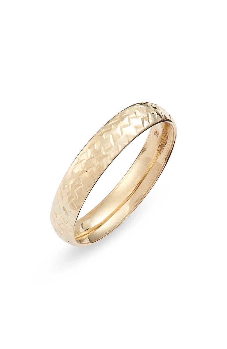 BONY LEVY Essentials Ring, Main, color, YELLOW GOLD