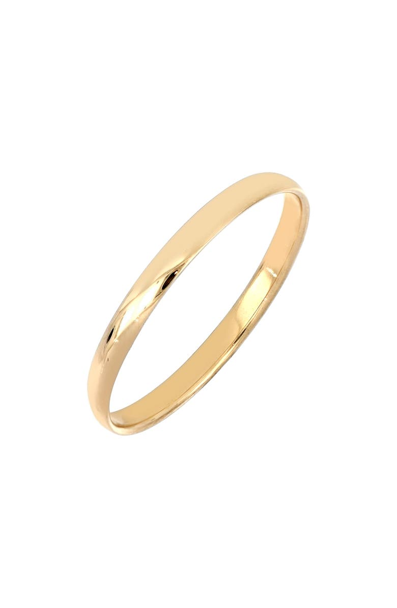 BONY LEVY 14K Gold Everyday Smooth Band Ring, Main, color, YELLOW GOLD