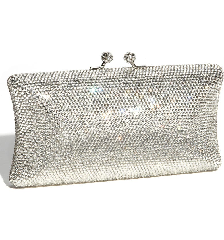 ZZDNU NATASHA COUTURE Tasha Rhinestone Clutch, Main, color, 040