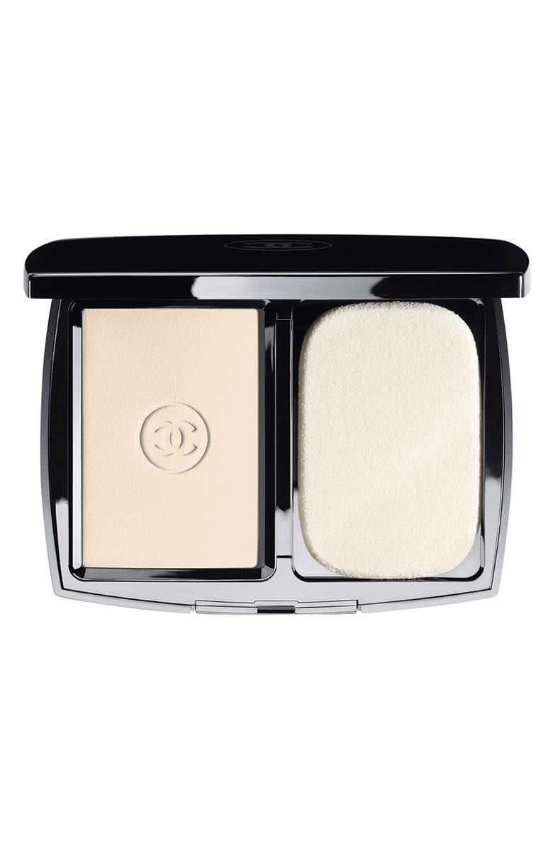 CHANEL DOUBLE PERFECTION LUMIÈRE <br />Long-Wear Flawless Sunscreen Powder Makeup Broad Spectrum SPF 15, Main, color, 12 BEIGE ROSE