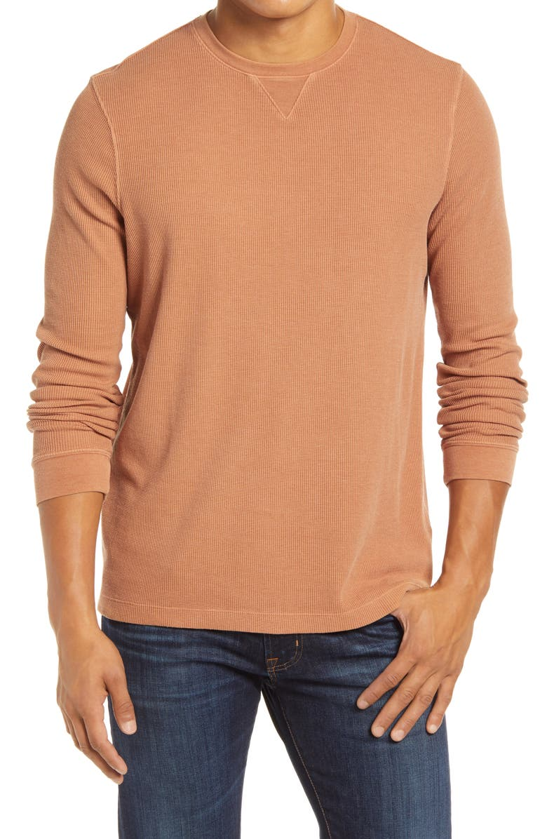 1901 Thermal Crewneck T-Shirt, Main, color, 210