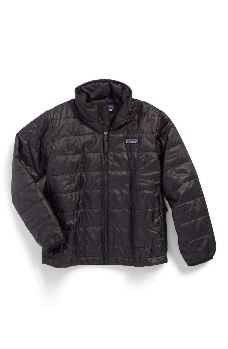 PATAGONIA Nano Puff<sup>®</sup> Water Repellent PrimaLoft<sup>®</sup> Insulated Jacket, Main, color, 001