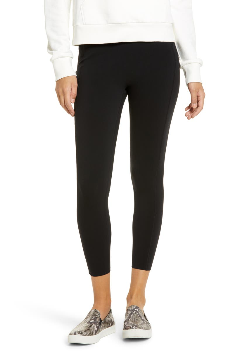 SPANX<SUP>®</SUP> Every.Wear 7/8 Active Leggings, Main, color, VERY BLACK