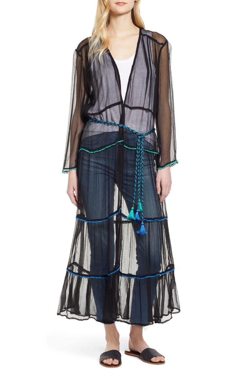 NFC Foxtrot Sheer Duster, Main, color, 001