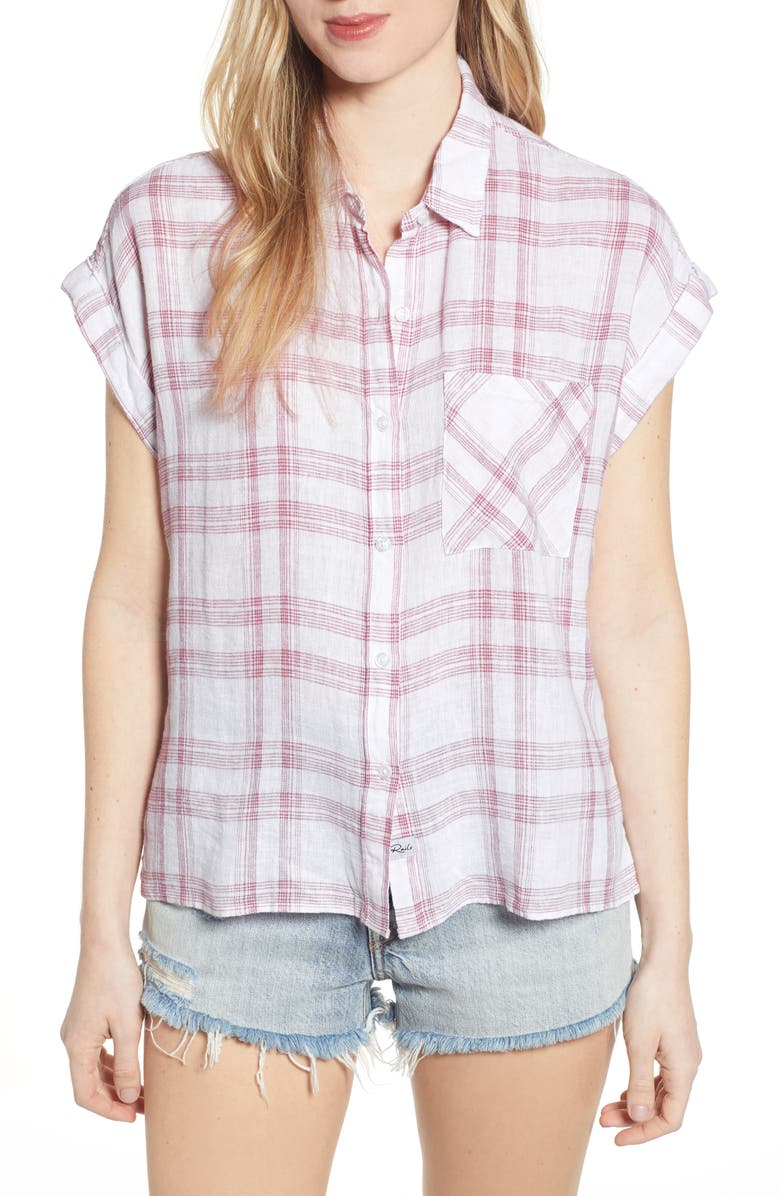 RAILS Whitney Plaid Shirt, Main, color, 100