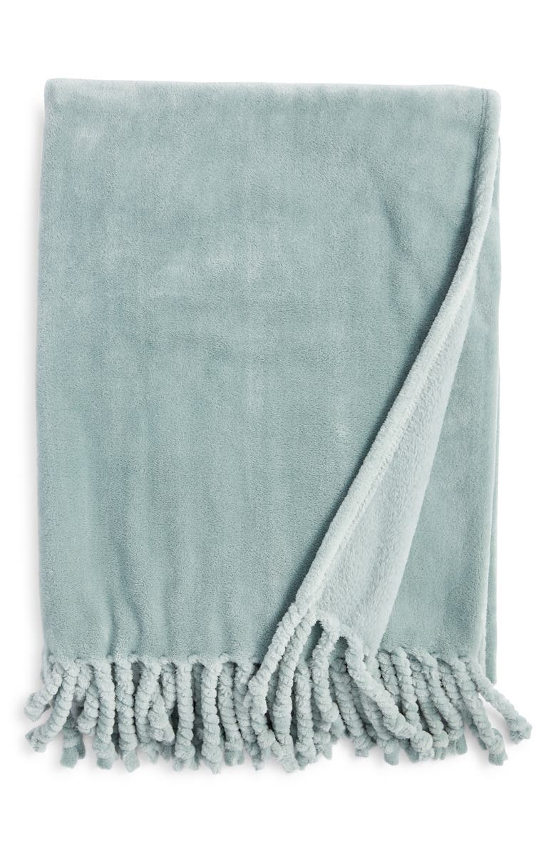 NORDSTROM Bliss Plush Throw, Main, color, 030