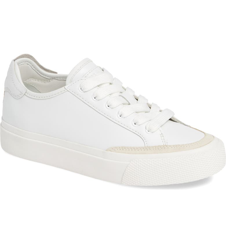RAG & BONE Army Low Top Sneaker, Main, color, WHITE LEATHER