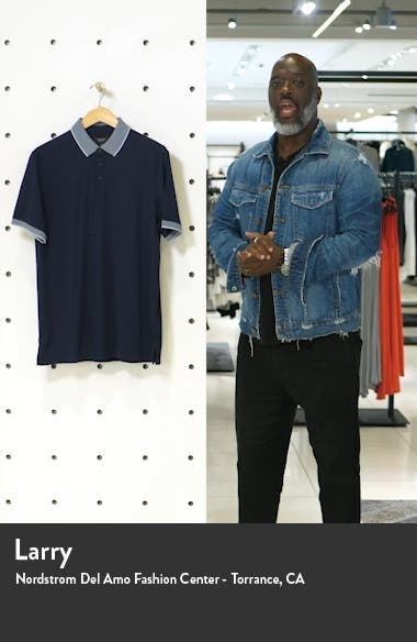 Short Sleeve Tipped Polo, sales video thumbnail