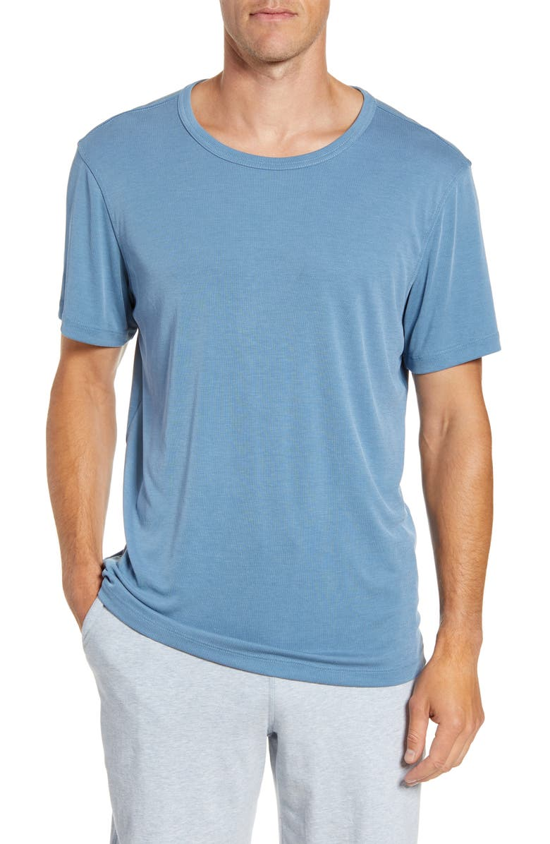 DANIEL BUCHLER Modal Blend Crewneck T-Shirt, Main, color, 400