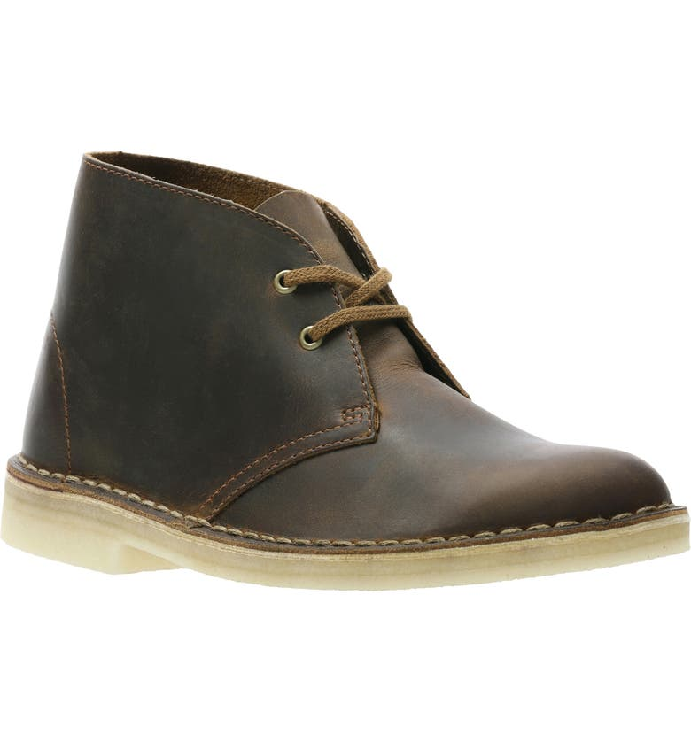 CLARKS<SUP>®</SUP> Desert ChukkaBoot, Main, color, BEESWAX/ BEESWAX LEATHER