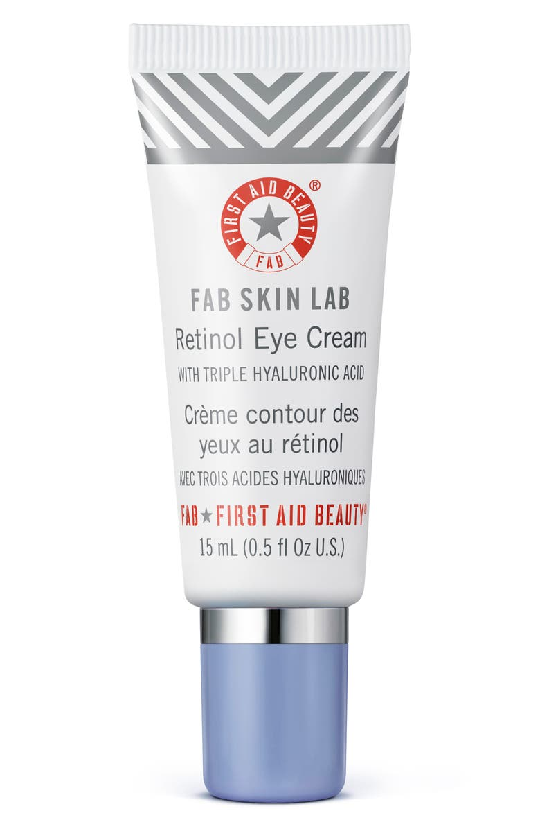 FIRST AID BEAUTY Fab Skin Lab Retinol Eye Cream, Main, color, No Color