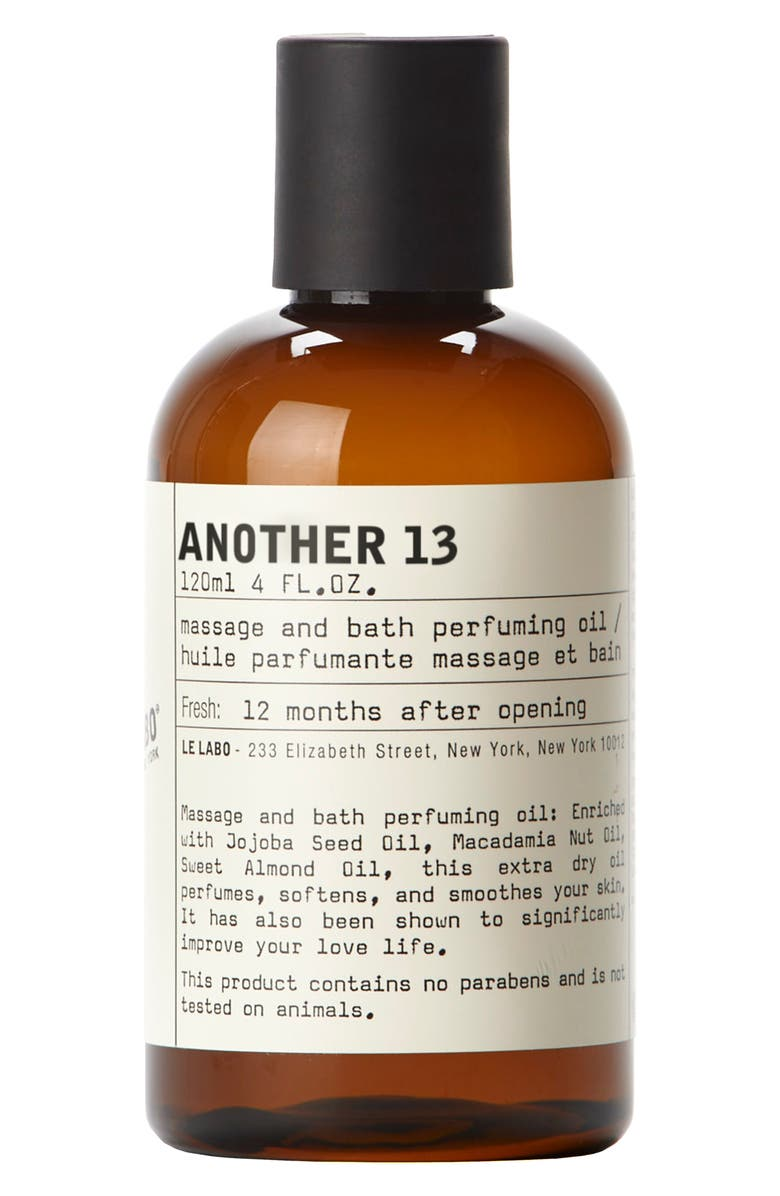 LE LABO AnOther 13 Massage and Bath Perfuming Oil, Main, color, NO COLOR