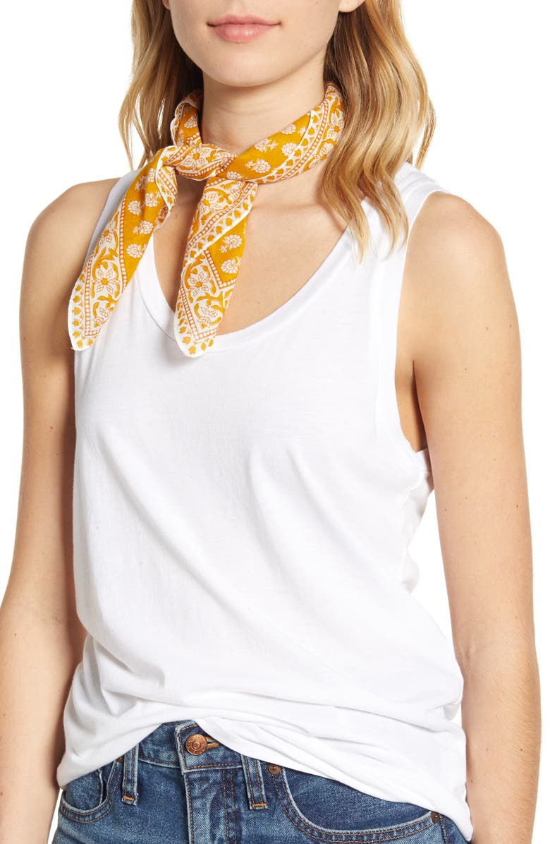 MADEWELL Bandana, Main, color, TUNGSTEN GLOW MULTI