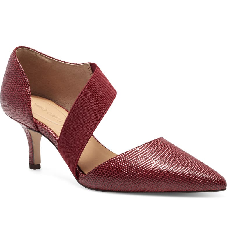 CC CORSO COMO<SUP>®</SUP> Denice Pump, Main, color, RED LEATHER