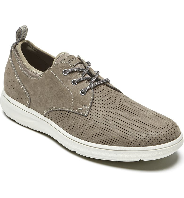 ROCKPORT Beckwith Plain Toe Oxford, Main, color, OLIVE