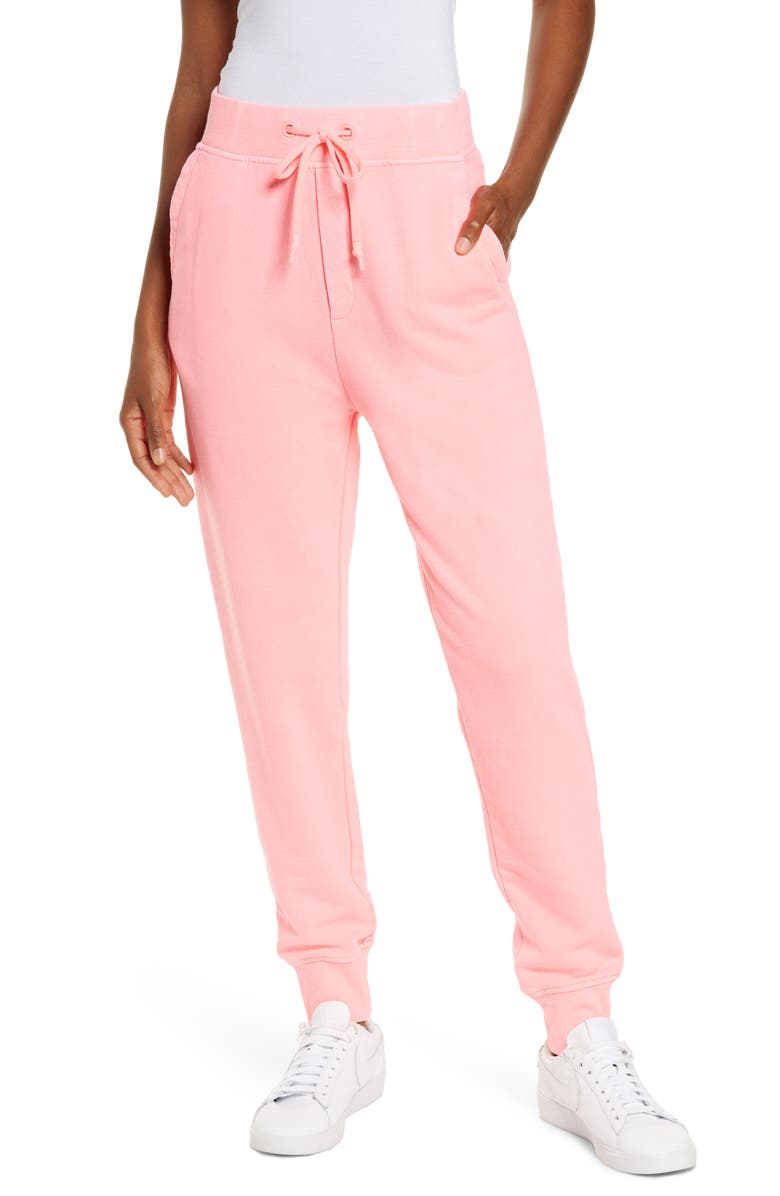 UGG<SUP>®</SUP> Ericka Relaxed Joggers, Main, color, NEON CORAL