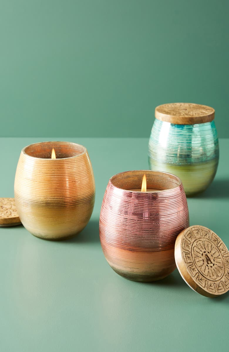 ANTHROPOLOGIE HOME Anthropologie Stella Jar Candle, Main, color, 400