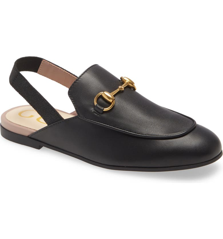 GUCCI Princetown Loafer Mule, Main, color, 002