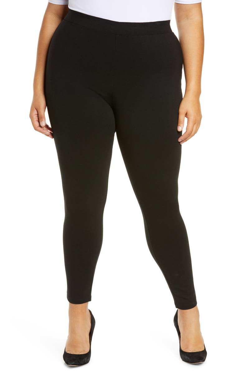 HALOGEN<SUP>®</SUP> Ponte Leggings, Main, color, 001
