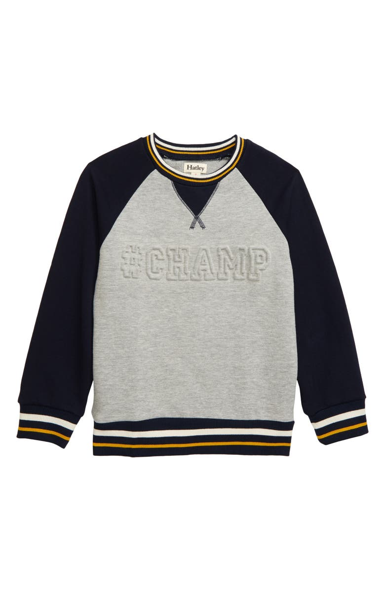 HATLEY Champ Sweatshirt, Main, color, 020