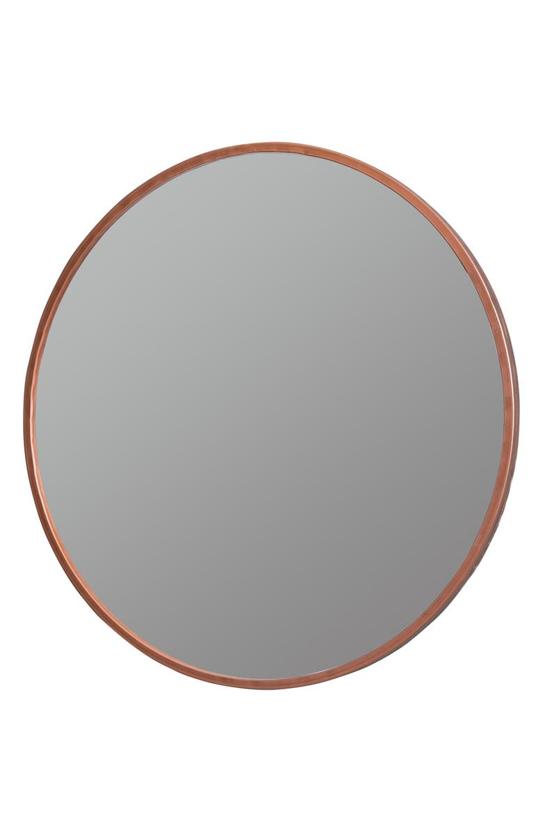 GEORGE AND CO Round Wall Mirror, Main, color, 220