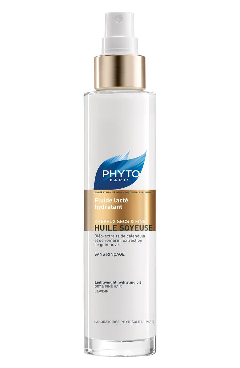 PHYTO Huile Soyeuse Lightweight Hydrating Oil, Main, color, 100
