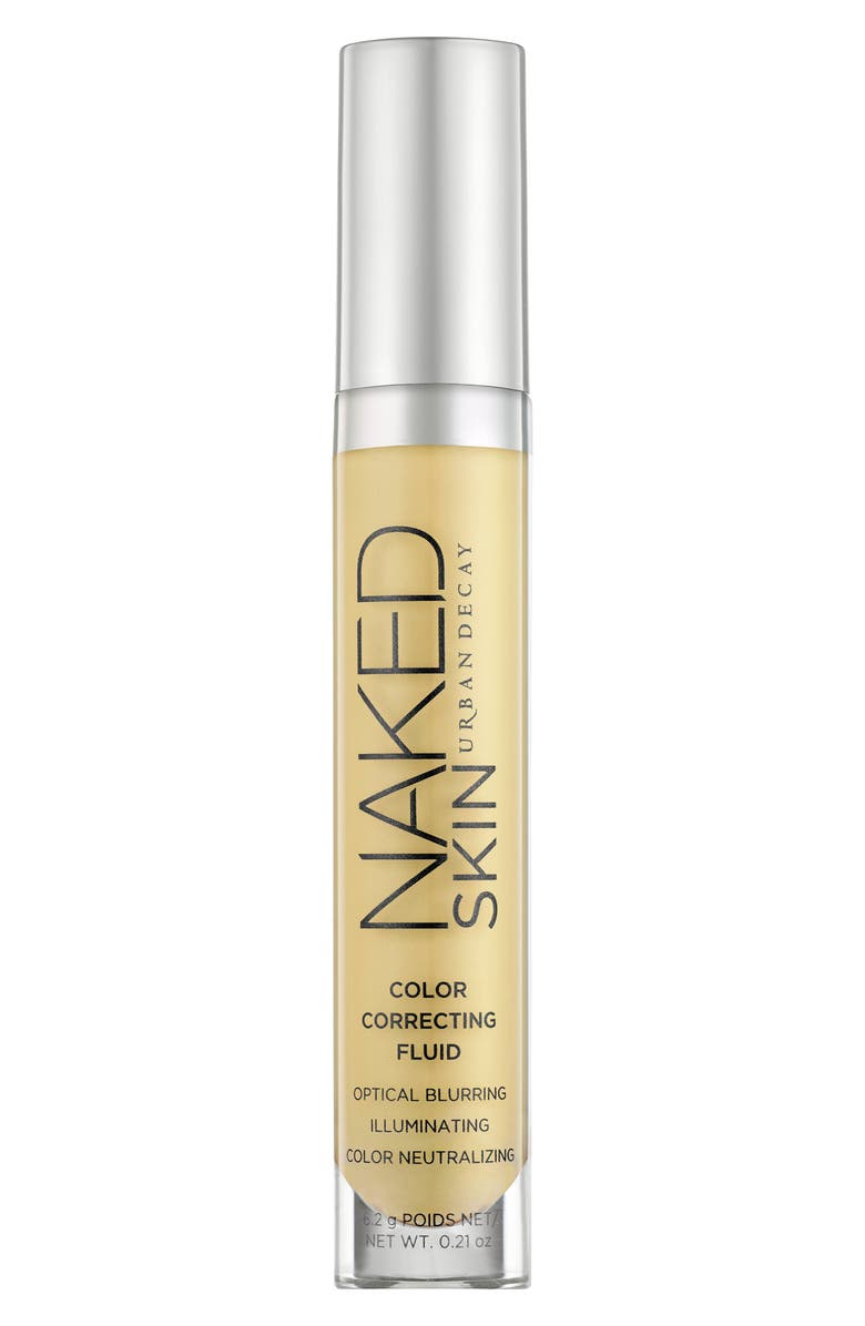 URBAN DECAY Naked Skin Color Correcting Fluid, Main, color, YELLOW