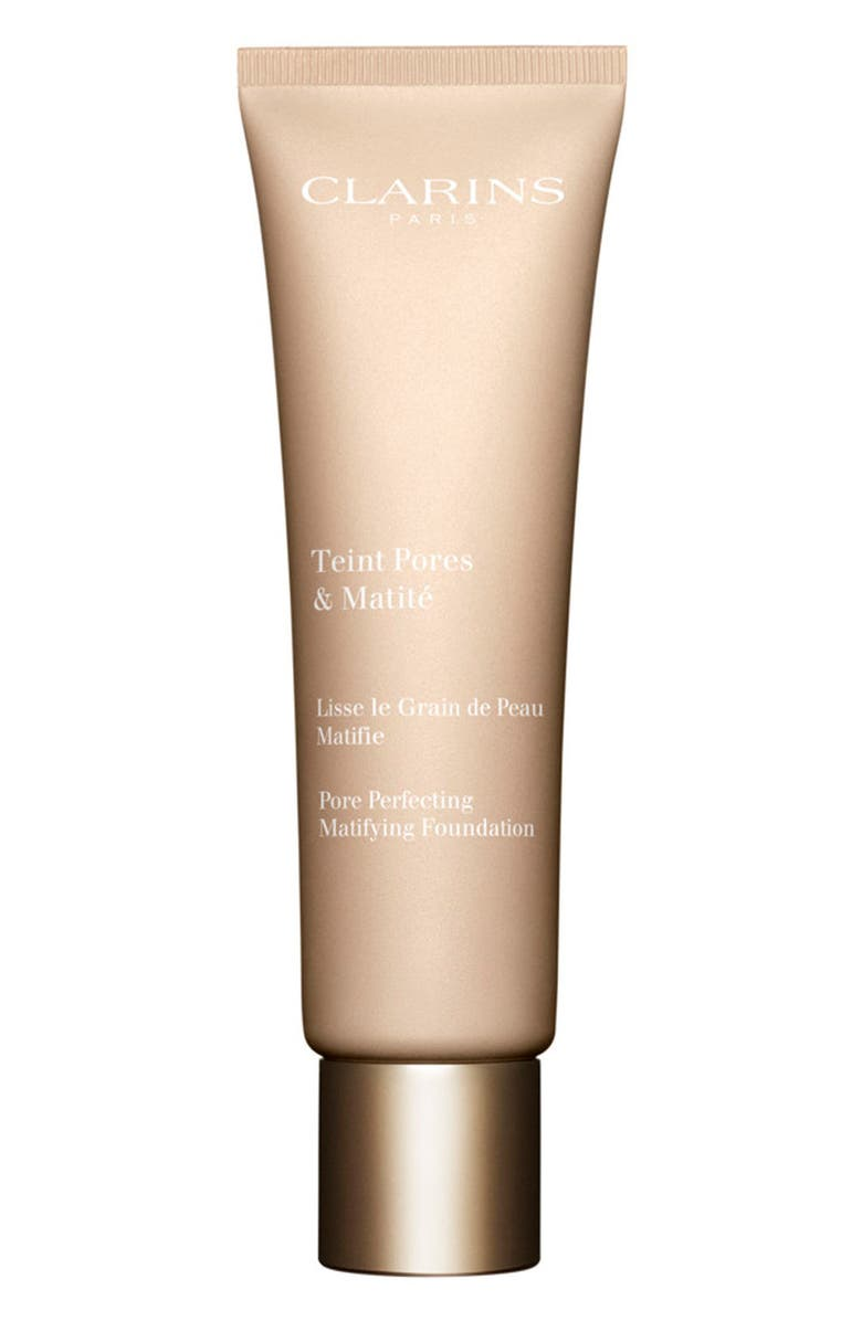 CLARINS Pore Perfecting Matifying Foundation, Main, color, NUDE CAPPUCINO