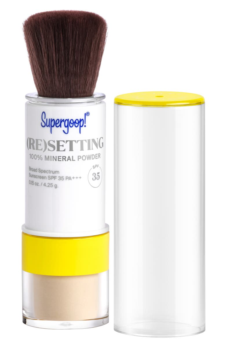 SUPERGOOP!<SUP>®</SUP> Supergoop! (Re)setting 100% Mineral Powder Foundation SPF 35, Main, color, TRANSLUCENT
