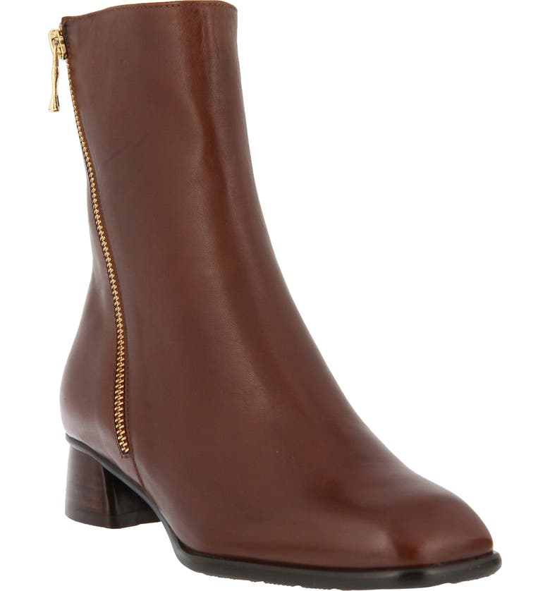 SPRING STEP Giachetta Boot, Main, color, BROWN LEATHER