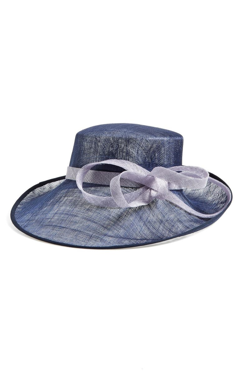 NORDSTROM Sinamay Hat, Main, color, 400