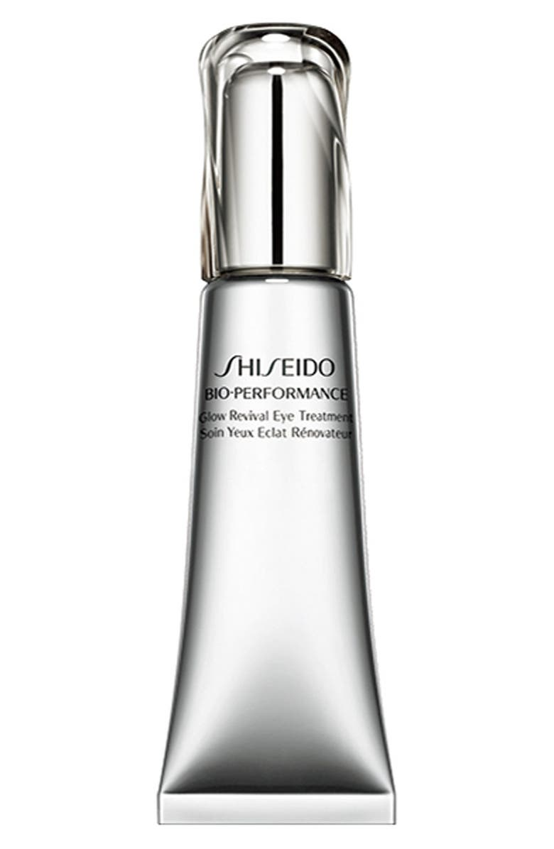 SHISEIDO Bio-Performance Glow Revival Eye Treatment Cream, Main, color, NO COLOR