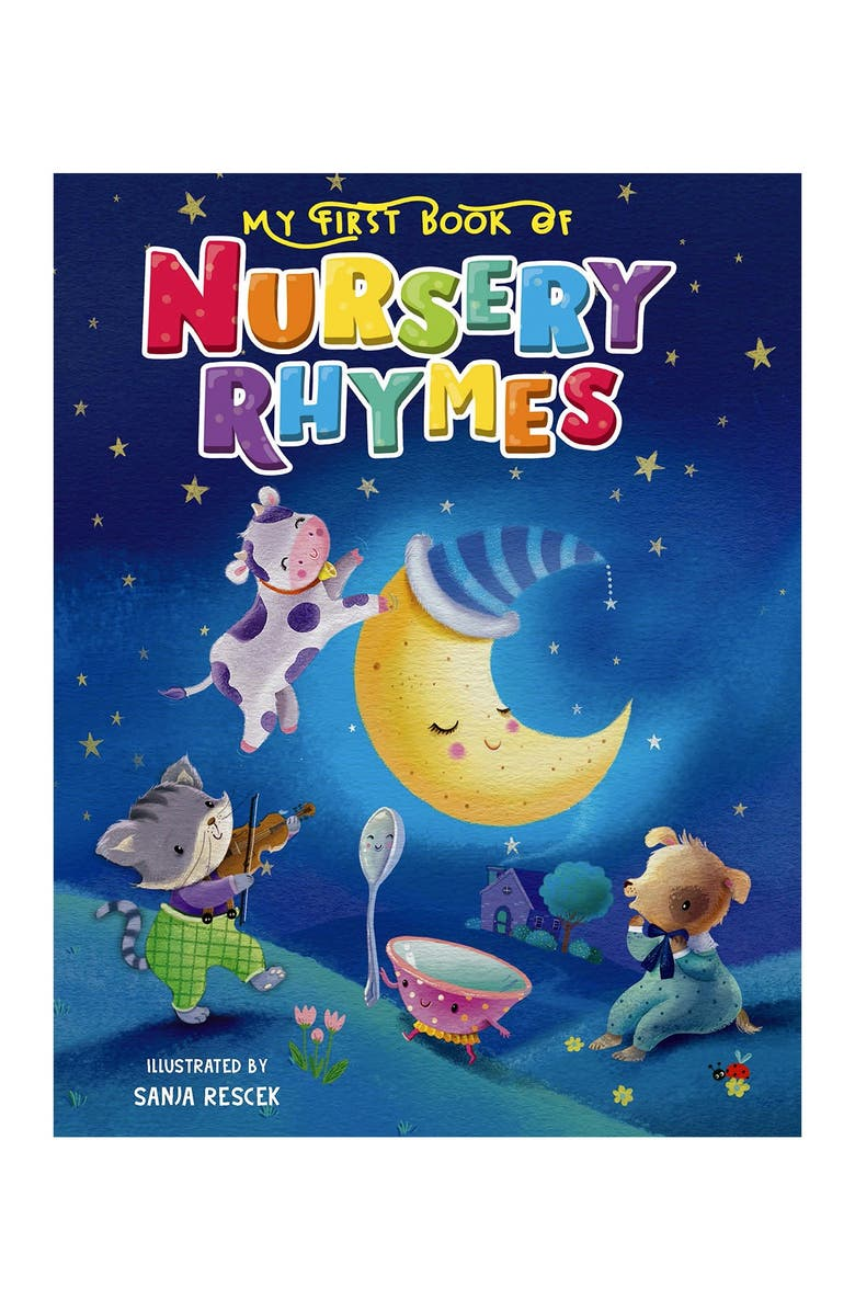 LITTLE HIPPO BOOKS My First Book of Nursery Rhymes, Main, color, MULTI