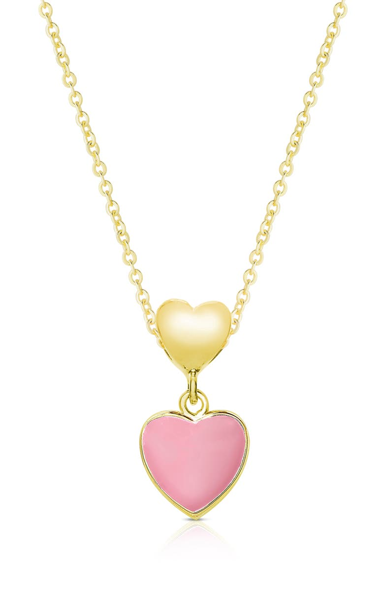 LILY NILY Heart Pendant Necklace, Main, color, 710