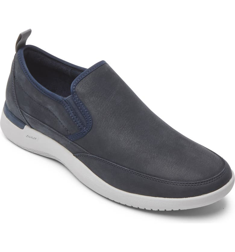 ROCKPORT Fly Slip-On Sneaker, Main, color, NEW DRESS BLUES