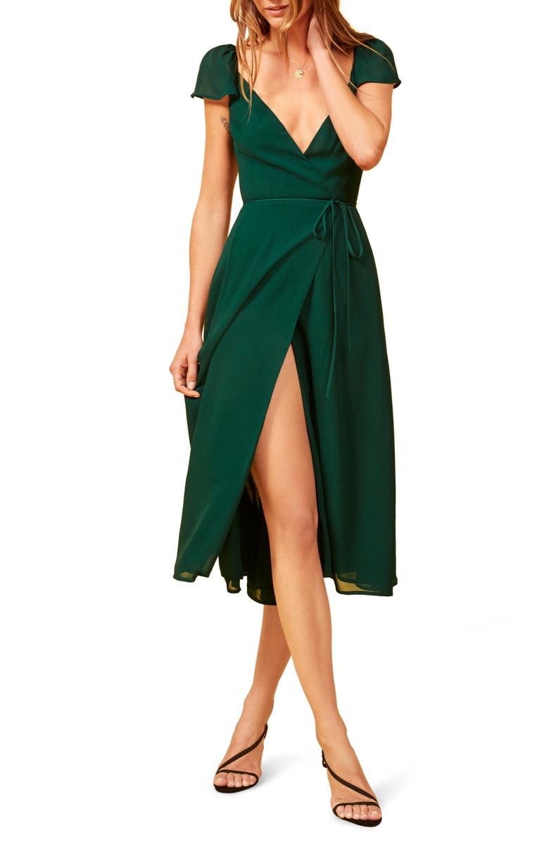 REFORMATION Piper Dress, Main, color, 300