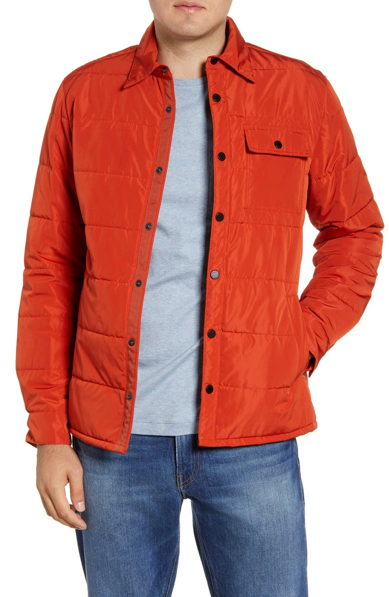 BARO The Quarry Water Repellent Quilted Jacket, Main, color, 800