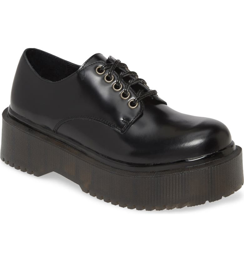 JEFFREY CAMPBELL Besito Platform Derby, Main, color, BLACK BOX