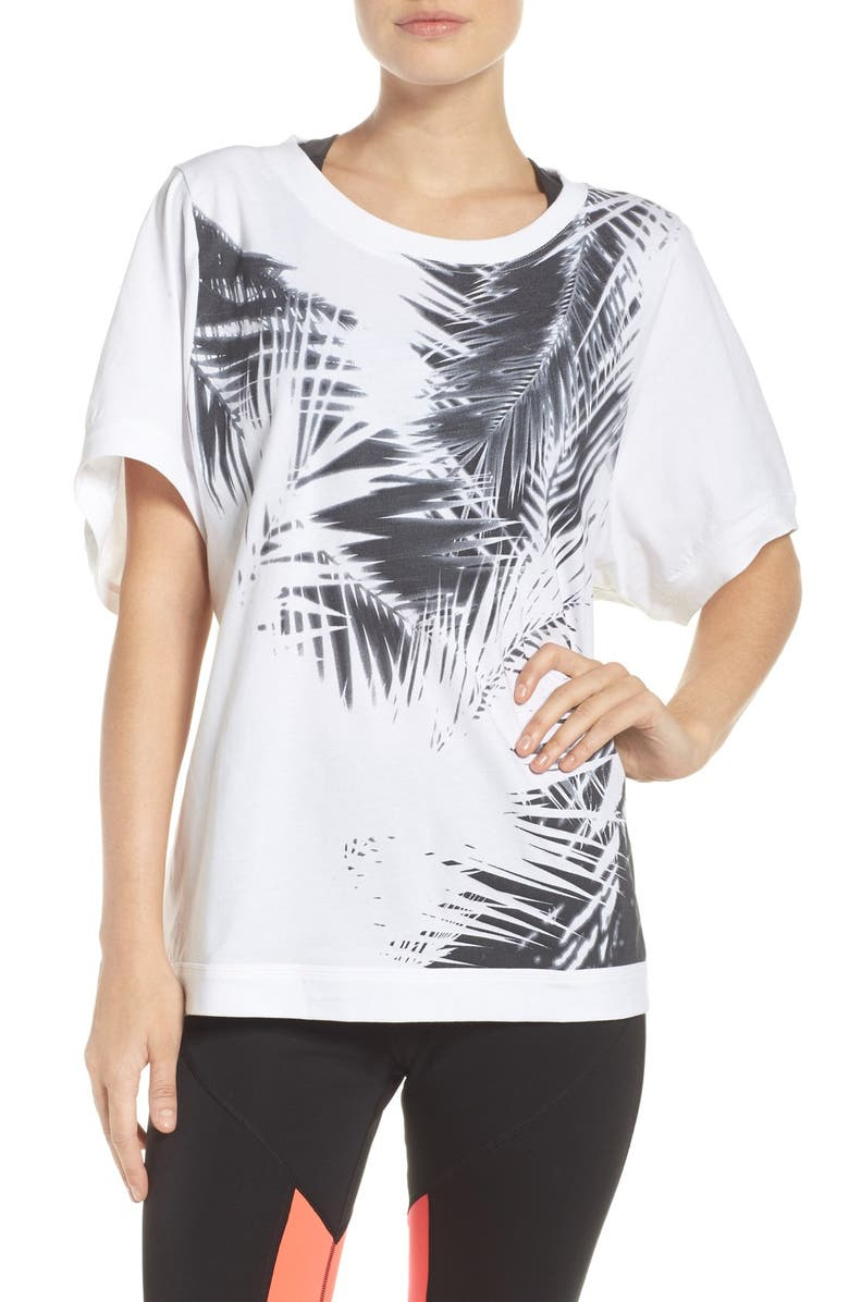 ADIDAS BY STELLA MCCARTNEY Essentials Climacool<sup>®</sup> Tee, Main, color, 100