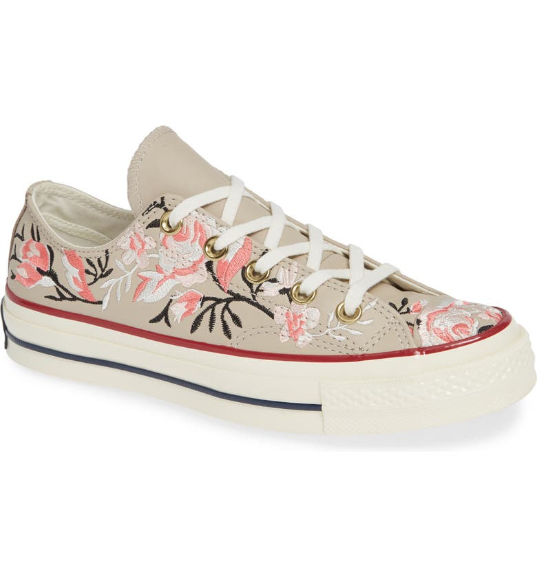 CONVERSE Chuck Taylor<sup>®</sup> All Star<sup>®</sup> Parkway Floral 70 Low Top Sneaker, Main, color, 251