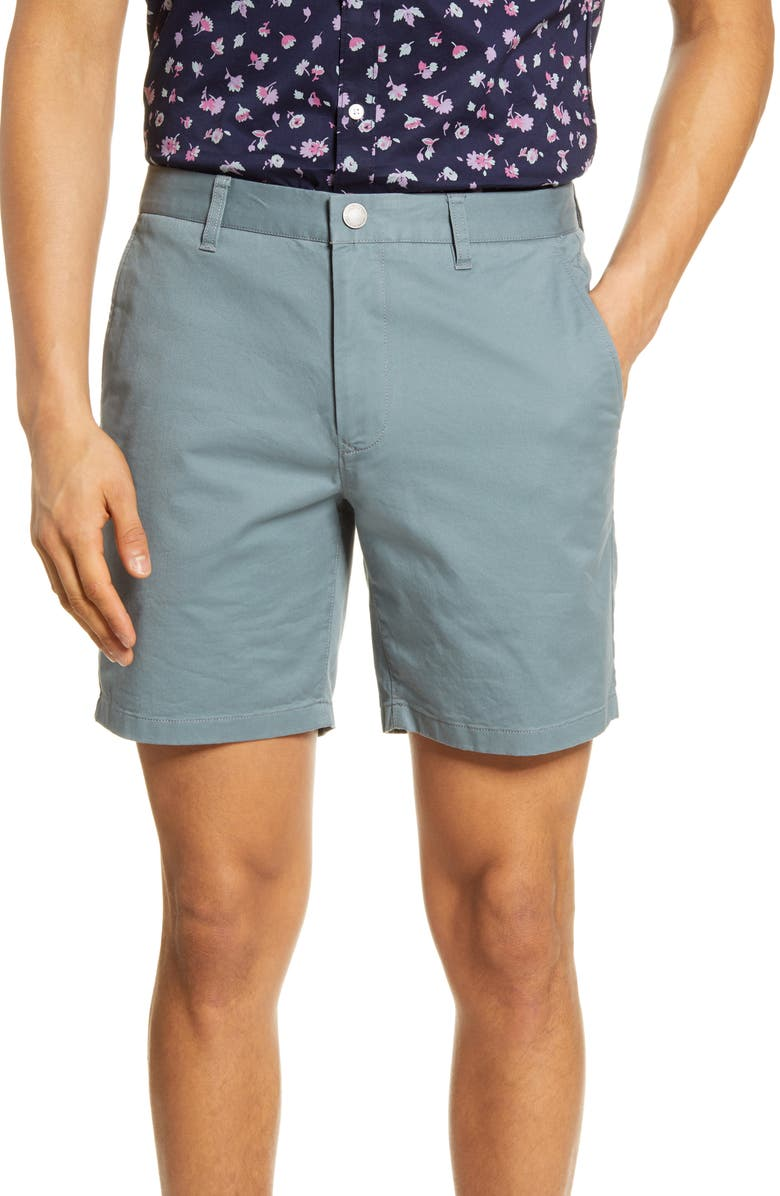 BONOBOS Stretch Washed Chino 7-Inch Shorts, Main, color, NOPALES