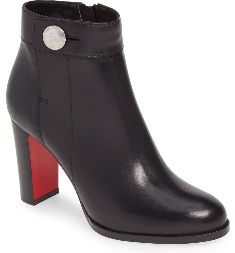 CHRISTIAN LOUBOUTIN Janis Button Bootie, Main, color, 003