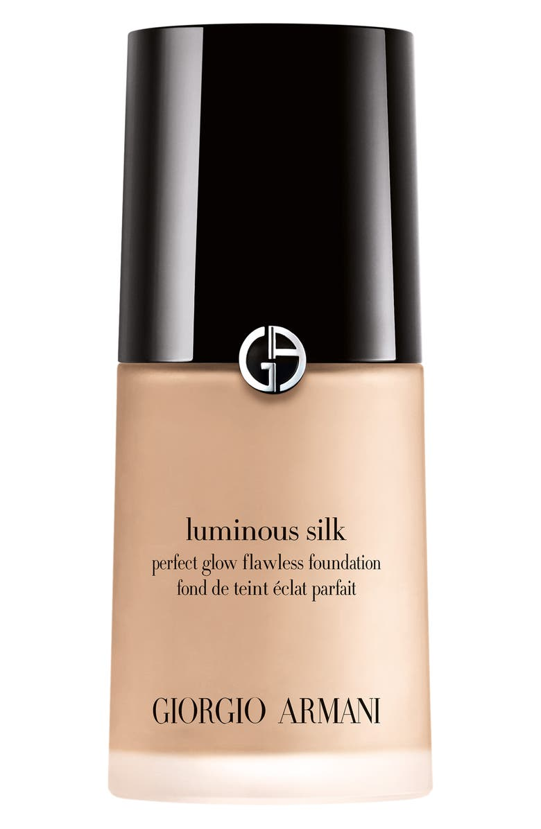 GIORGIO ARMANI Luminous Silk Perfect Glow Flawless Oil-Free Foundation, Main, color, 02 - FAIR/WARM UNDERTONE