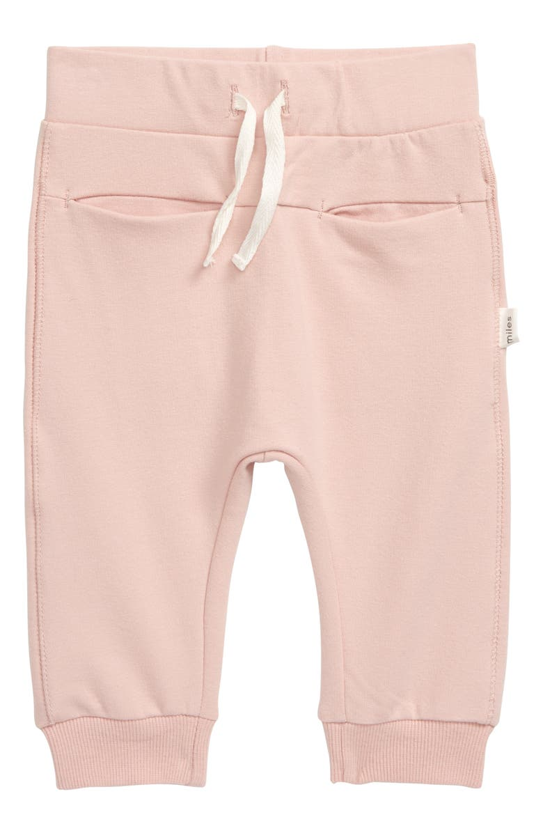 MILES baby Joggers, Main, color, LIGHT PINK