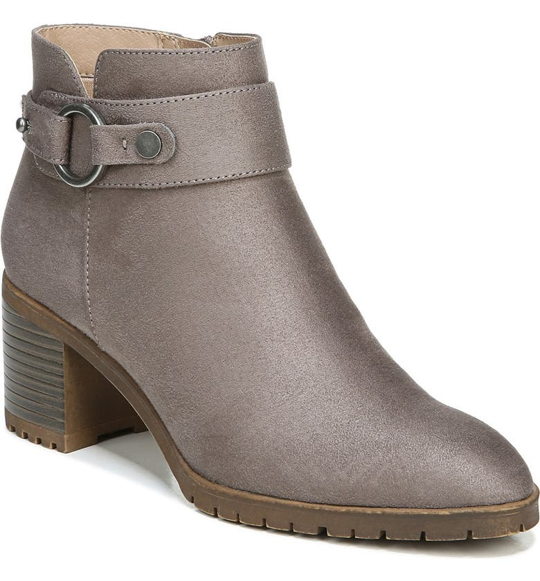 LIFESTRIDE Miranda Ankle Boot - Wide Width Available, Main, color, HEATHER GREY