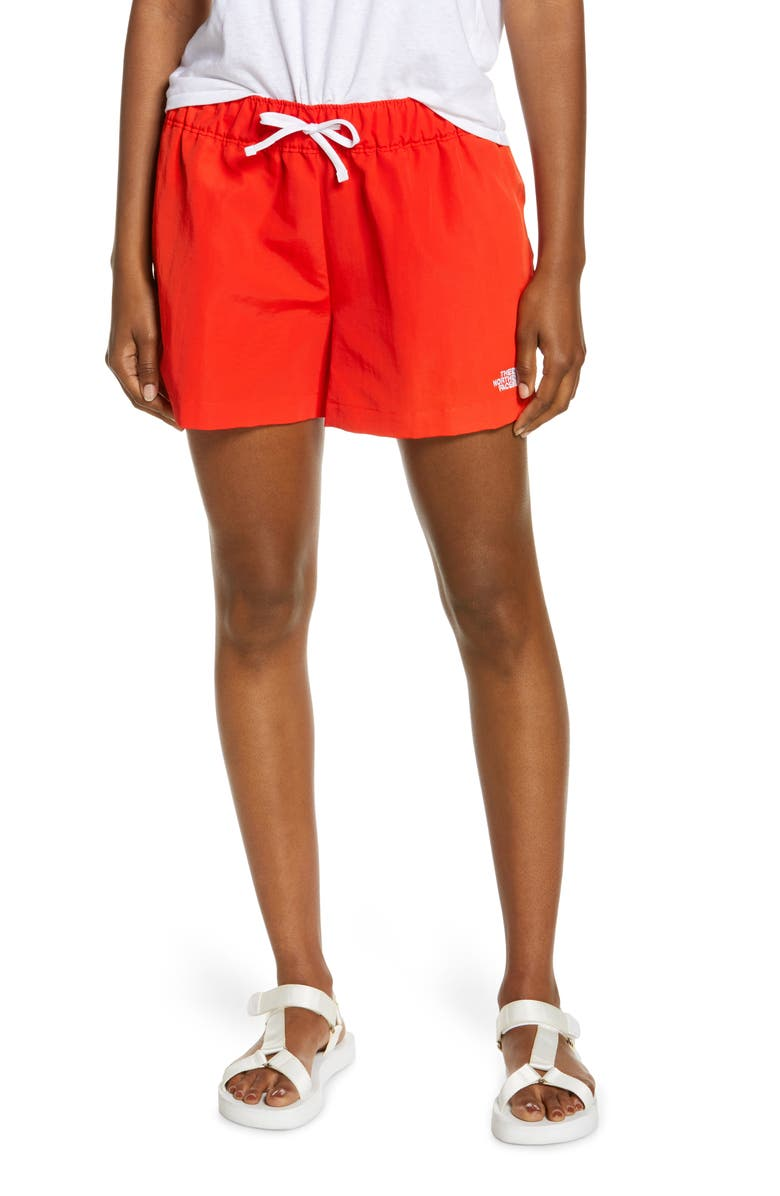 THE NORTH FACE IC Class V Shorts, Main, color, FIERY RED