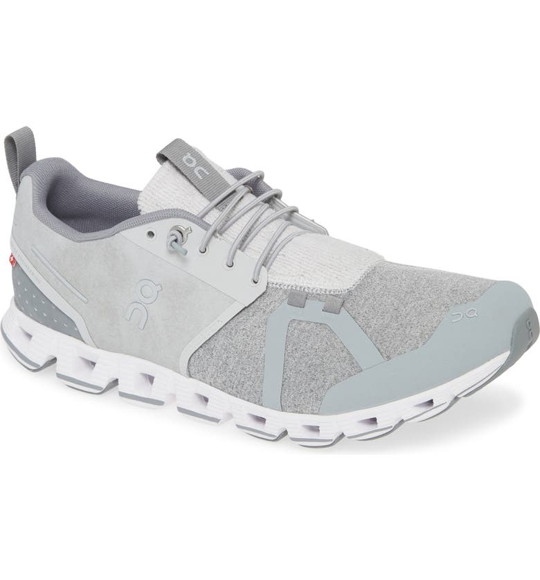 ON Cloudterry Running Shoe, Main, color, SILVER
