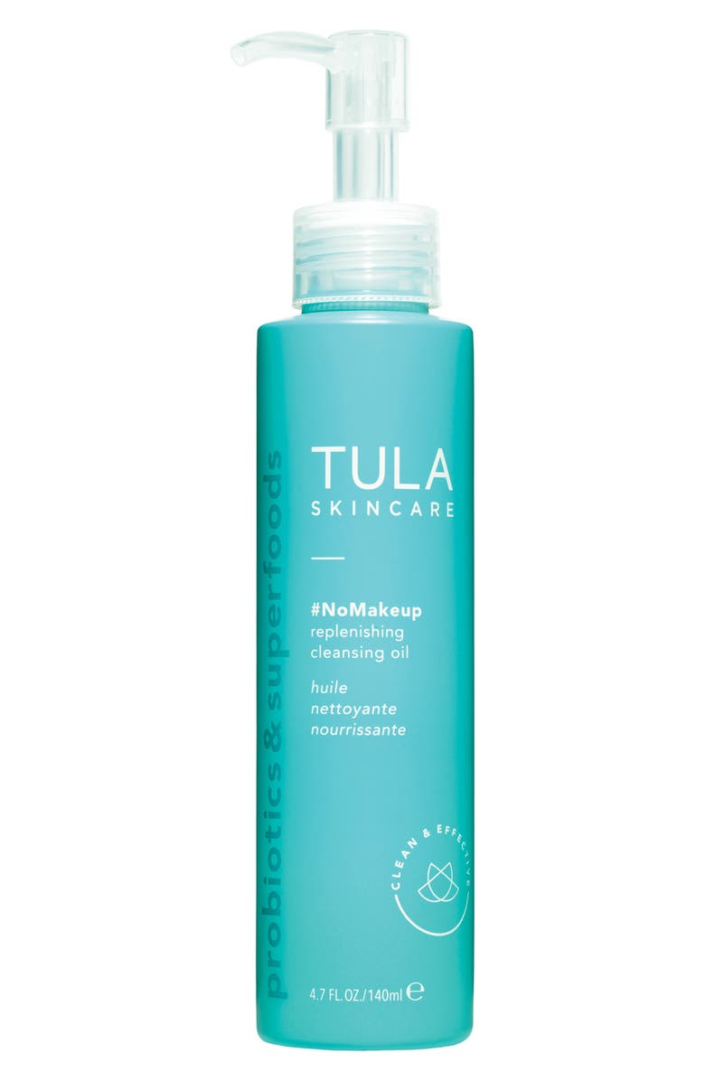 TULA SKINCARE #NoMakeup Replenishing Cleansing Oil, Main, color, No Color