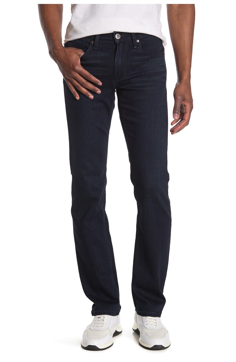 PAIGE Normandie Straight Jeans, Main, color, HADWIN